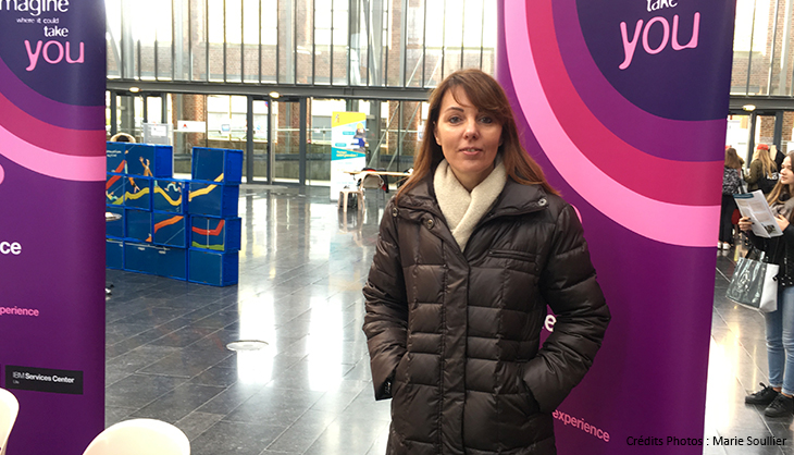 Numeriqu'elles Euratechnologies Femme Numérique IBM Delphine Denimal