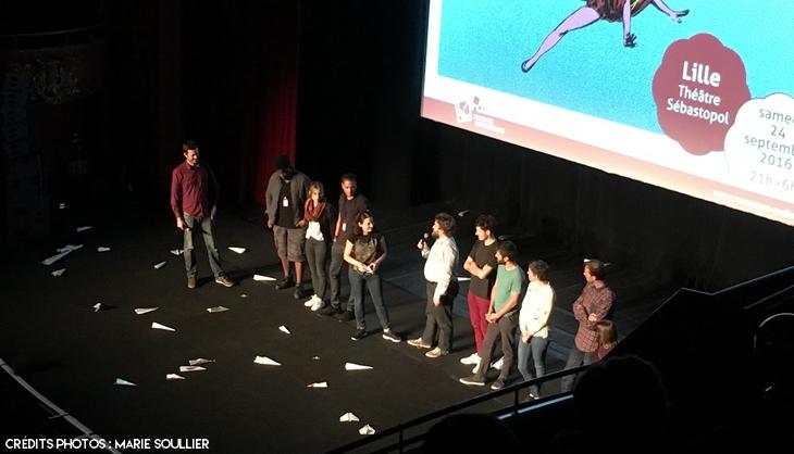 Projection de Lastman à la Nuit de l'Animation de Lille
