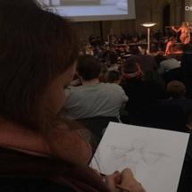 La Nuit du Modele Vivant au Palais des Beaux Arts de Lille