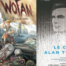 Wotan, l'oeuvre la plus récente d'Eric Liberge, s'intéresse au fanatisme durant la 2nde guerre mondiale.