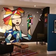 Braderie Art Roubaix Lille Nord Expo Mimi Clown