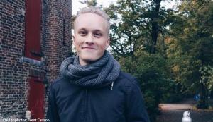 Trent Carlson, étudiant américain à l'ISTC