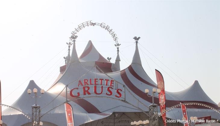 cirque arlette gruss viviana rossi et l'on réinventa le cirque 2017 voltige lille