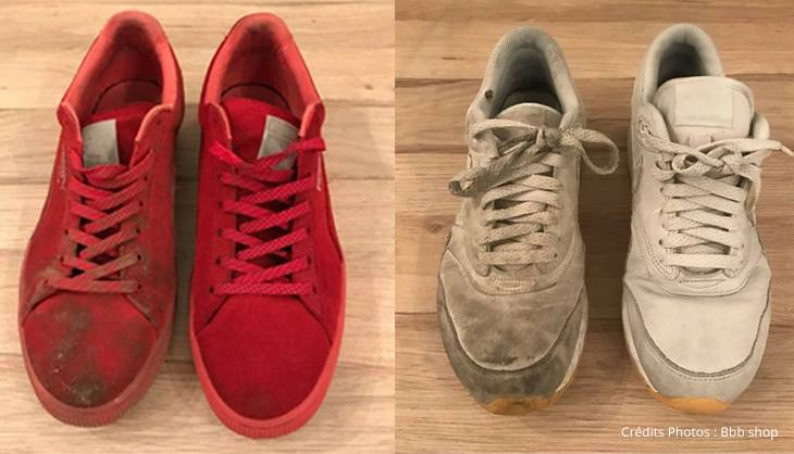 BBBShop Sneakers Baskets Magasin Lille Chaussure Lavage