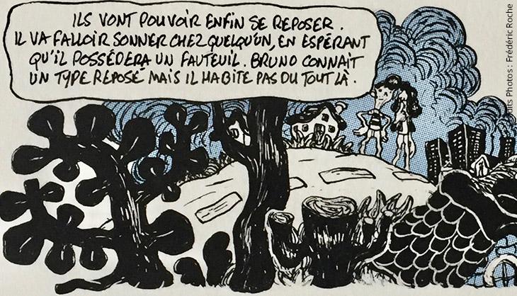 Frédéric Roch BD Bande Dessinée Art Livre bouquin librairie Dessin Bulles