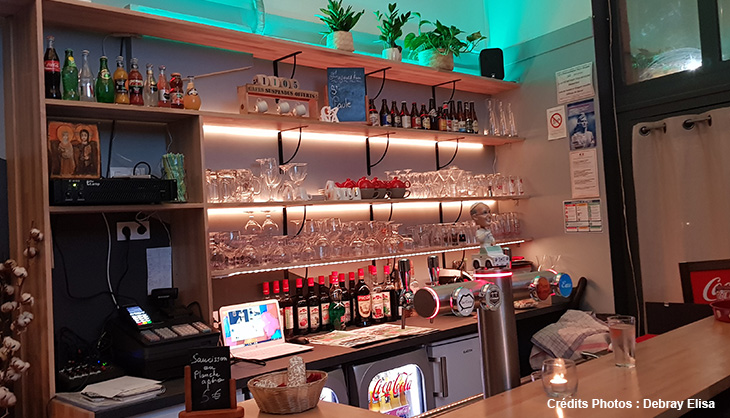 decoration bar comptoir Cana Lille