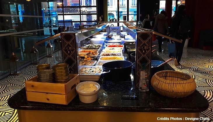 restaurant volonte buffets gare lille art deco dome