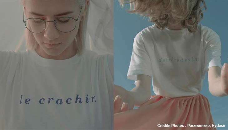 T shirt le crachin paronomase collection mode lille